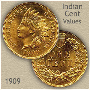 1909 Indian Head Penny Value  Discover Their Worth