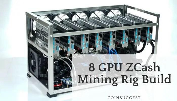 8 GPU ZCash Mining Rig Build