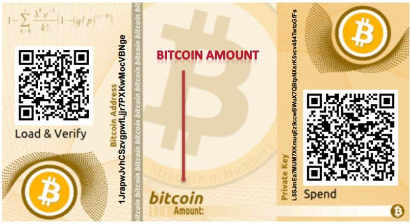 How To Make A Bitcoin Paper Wallet How To Spend Bitcoins