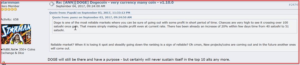 Bitcoin Talk Forum - Dogecoin