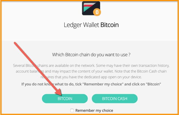 Select-Bitcoin-on-Ledger-