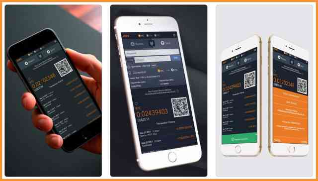 Jaxx Blockchain wallet for iPhone