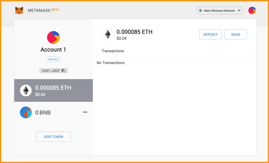 MetaMask New UI