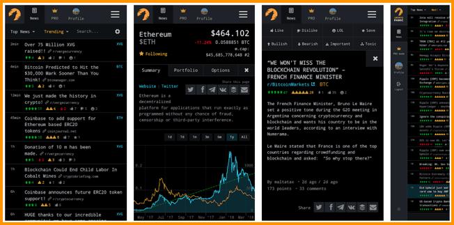CryptoPanic Android App