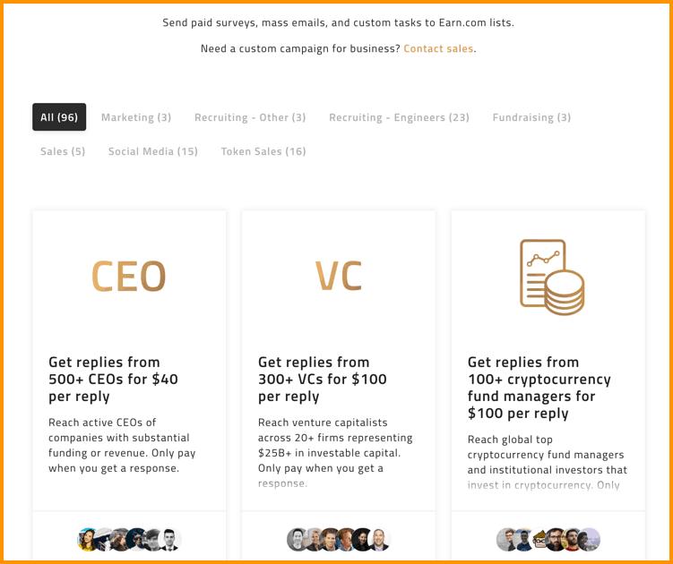 How Does earn.com Work