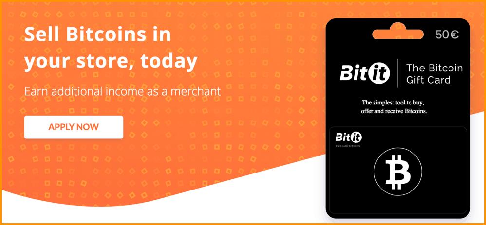 Bitcoin Bitit Gift Card