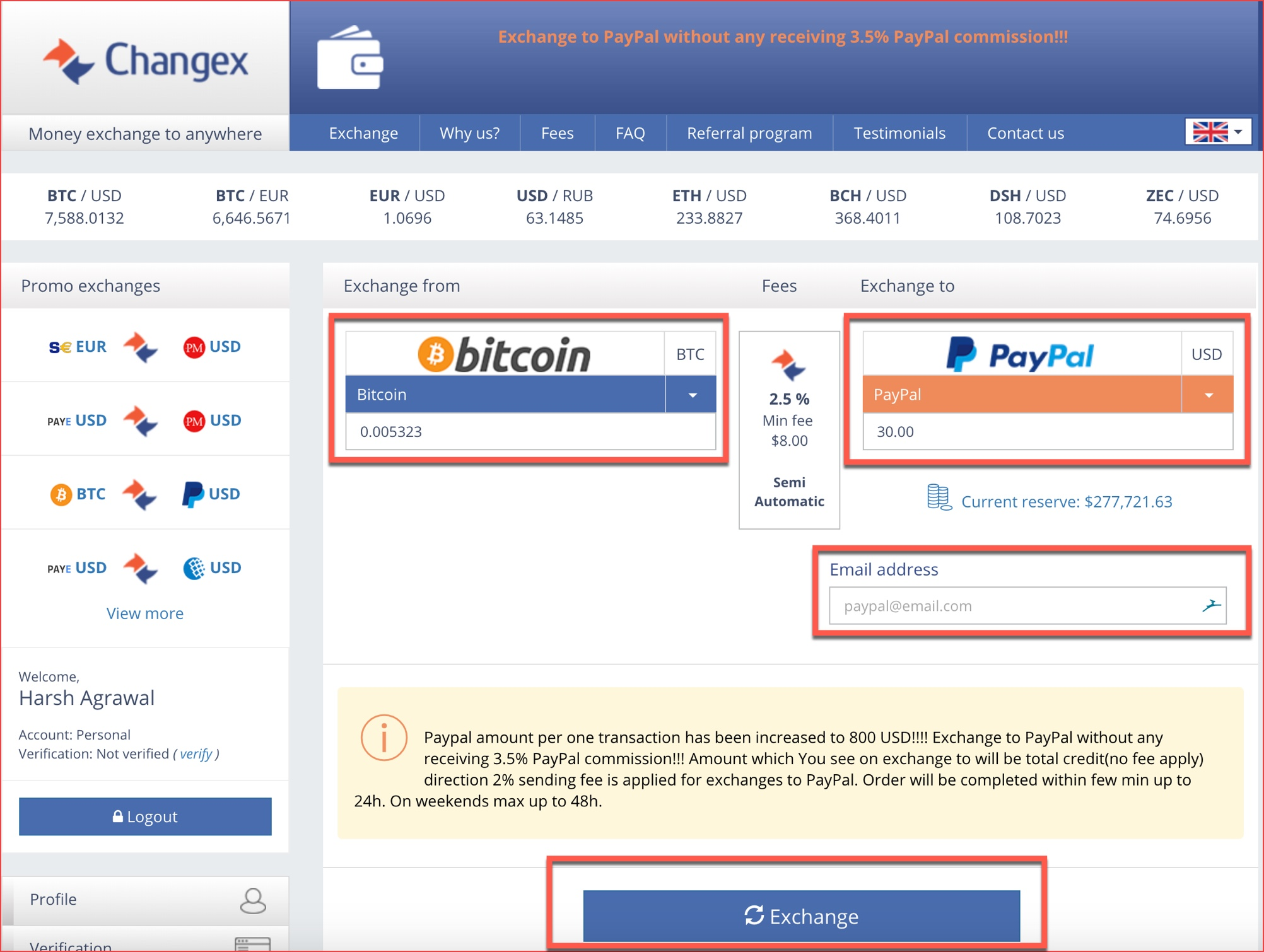How To Sell Bitcoin for PayPal  Convert your Bitcoins to USD via PayPal Instantly