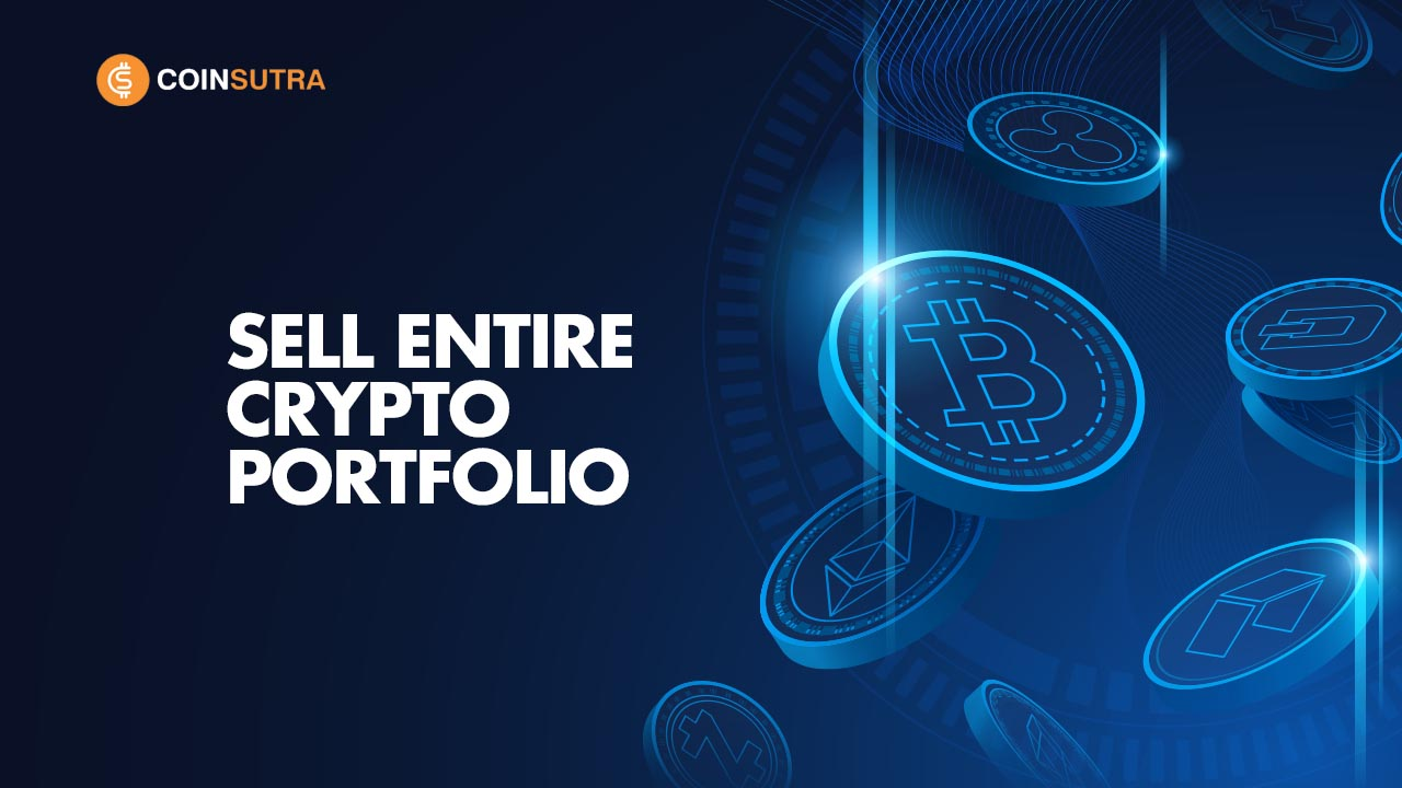 Sell Entire Crypto Portfolio for Bitcoin