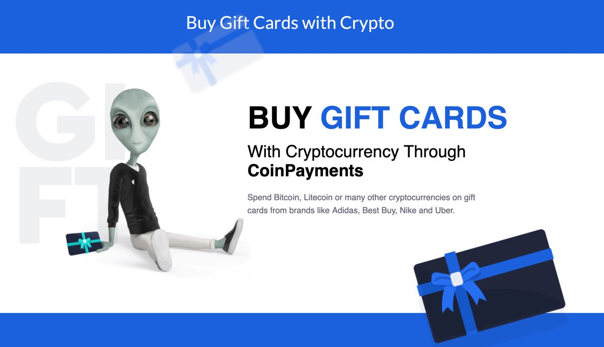 How To Purchase Gift Cards With Bitcoin, LTC & Other Cryptocurrencies