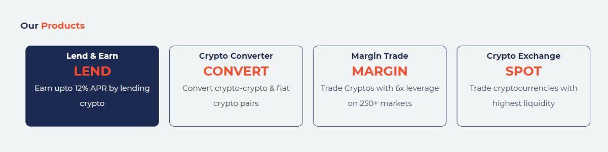Features of CoinDCX Exchange