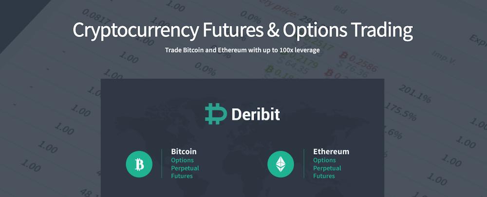 Deribit Crypto Exchange