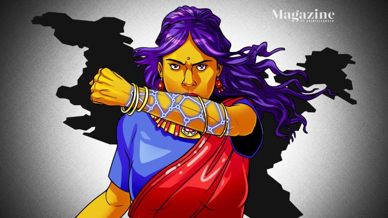 Blockchain is a potential aid in the fight against sexual violence in India scaled