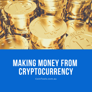Make money by change cryptocurrency