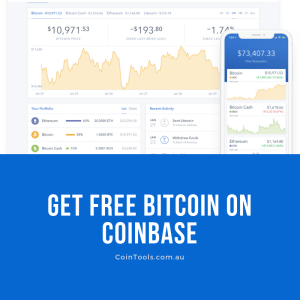 Get Free Bitcoin on Coinbase – CoinTools