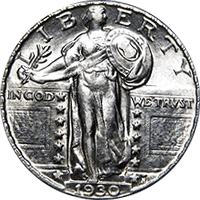 Image result for standing liberty quarter