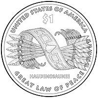 2010 Native American Dollar, Northern Mariana Islands