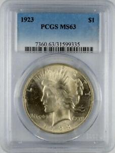 1923 Silver Peace