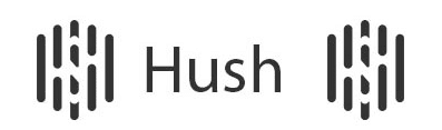Hush logo privacy coin