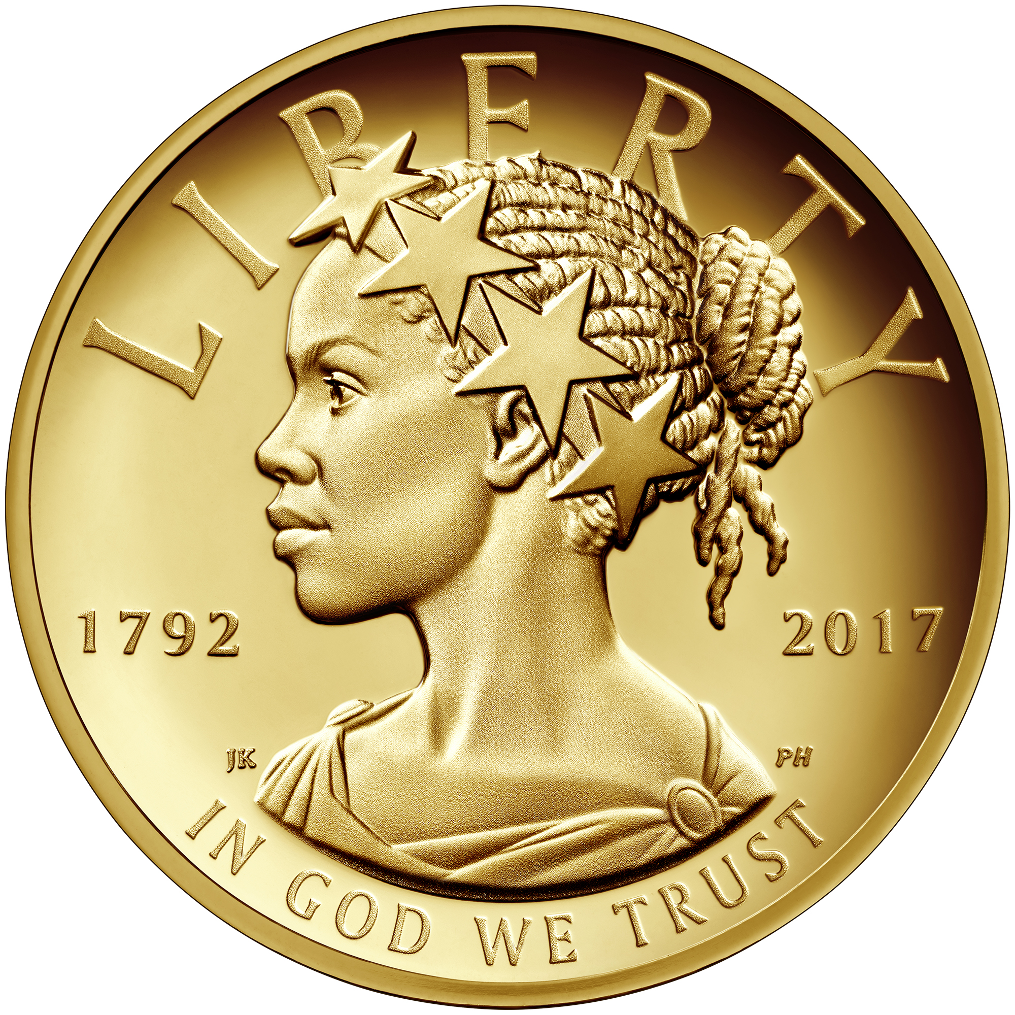 United States American Liberty 225th Anniversary Gold