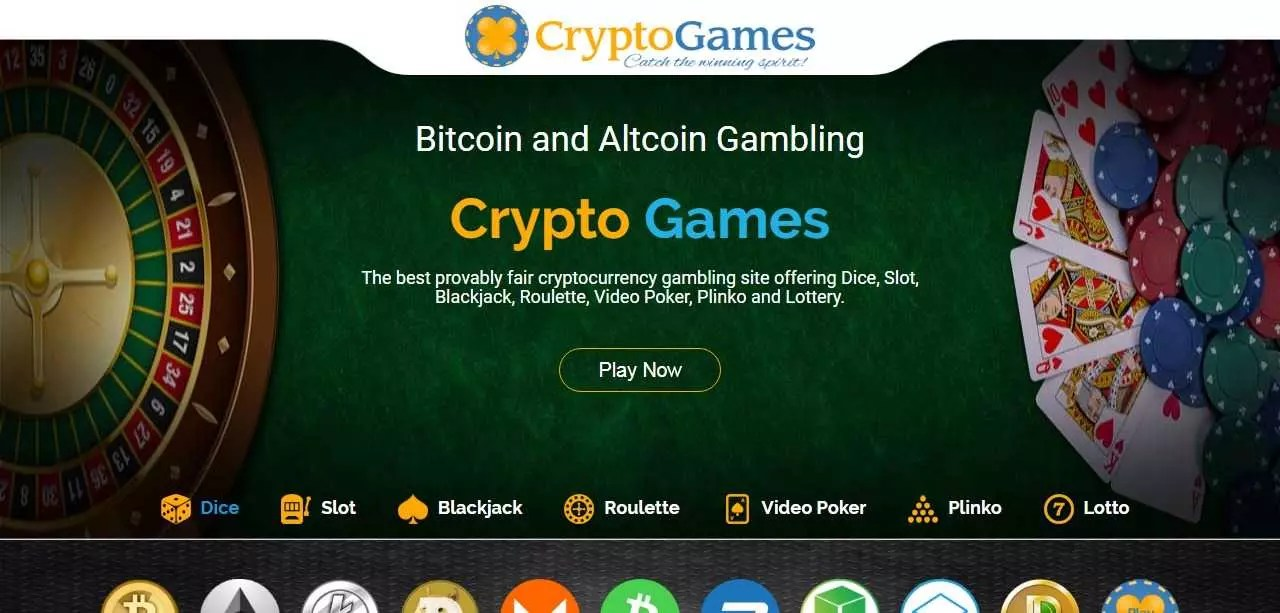 Crypto-games.net Review : BTC, LTC and ETH Gambling