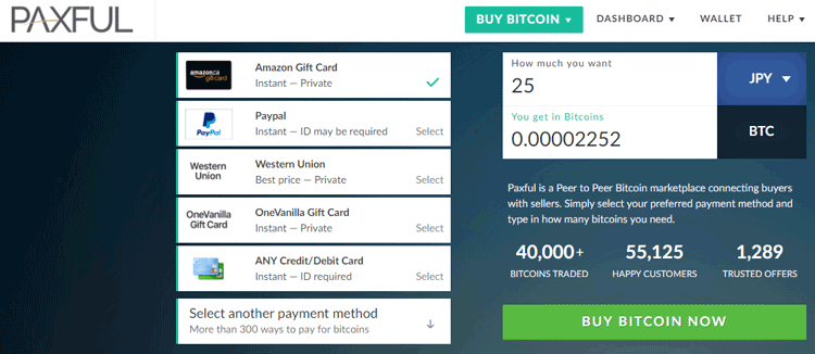 3 best ways to buy bitcoins with cash step by step guide for how to buy bitcoins with cash using paxful ccuart Images