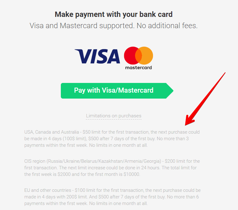 cheapest way to buy btc with credit card