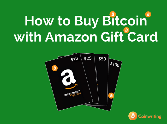 How to buy bitcoin with credit card anonymously no verification or id 2 best ways to buy bitcoin with amazon gift card code instantly ccuart Gallery