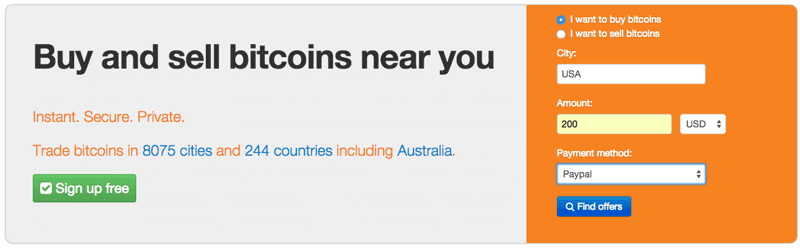 localbtcoins search