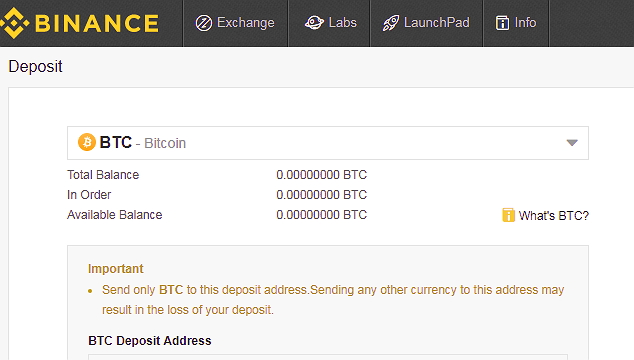 cyptocurrency selection