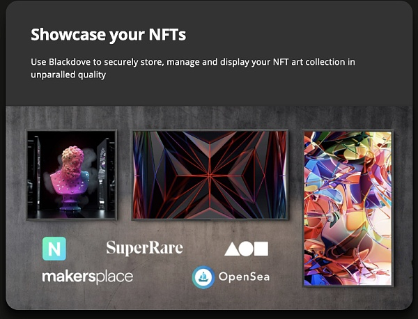 LG Home Theater and Digital Art Gallery will be able to display NFT in the future