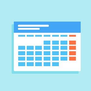 جدول الفصل الدراسي الاول للسنة الثانية ( المكثف )الخاص بالطلبة المشمولين بنظام العبور