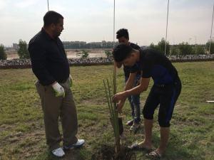 كلية العلوم الاسلامية تنظم حملة للعمل التطوعي