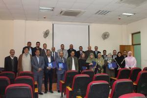 حفل تكريم ثلة من الأساتذة في قسم اللغة العربية