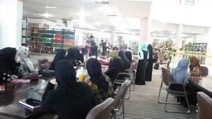 زيارة طلبة قسم اللغة العربية للمكتبة المركزية في الجامعة