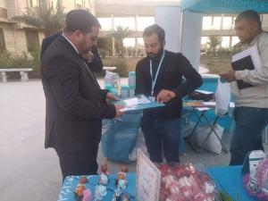 كلية العلوم الاسلامية تستضيف فعاليات مؤسسة العين الخيرية لرعاية الايتام