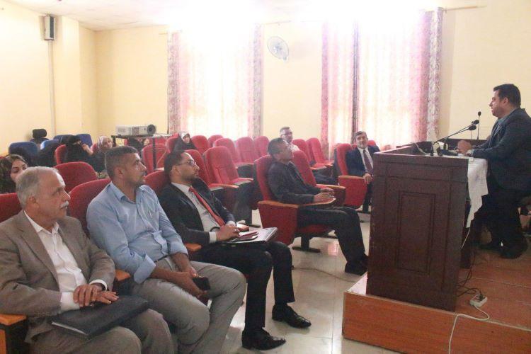 شعبة التعليم المستمر في كلية العلوم الاسلامية تناقش موضوع الابتزاز الالكتروني صورة مميزة