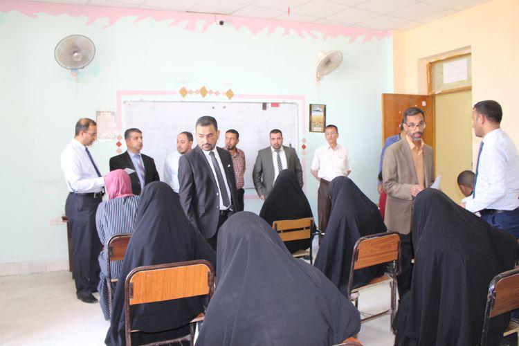 اجراء الامتحان التنافسي للمتقدمين للدراسات العليا في كلية العلوم الاسلامية