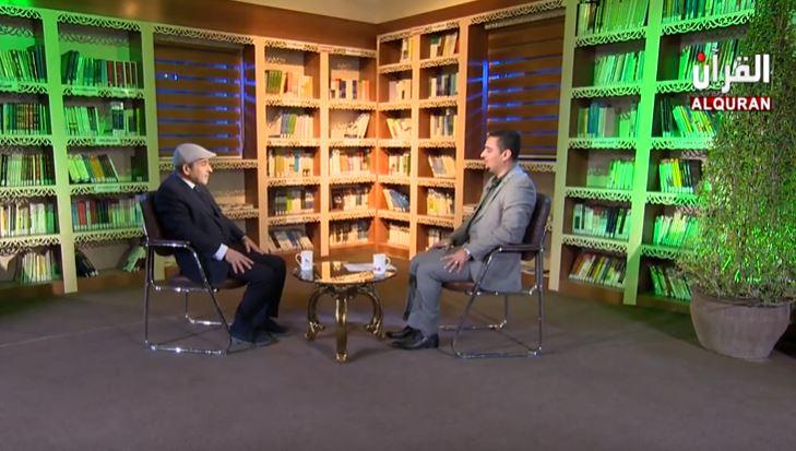 برنامج مكتبة قرآنية – لقاء مع الدكتور جاسم علك شهاب