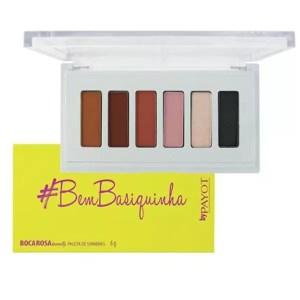 Paleta de Sombras Boca Rosa - Bembasiquinha - Payot