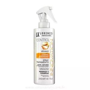 Spray Sem Enxague Vegano Cabelos Finos 240ml - Lokenzzi