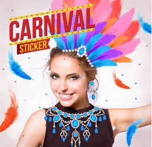 candid camera sticker carnaval