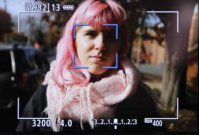 Canon liveview facetracking