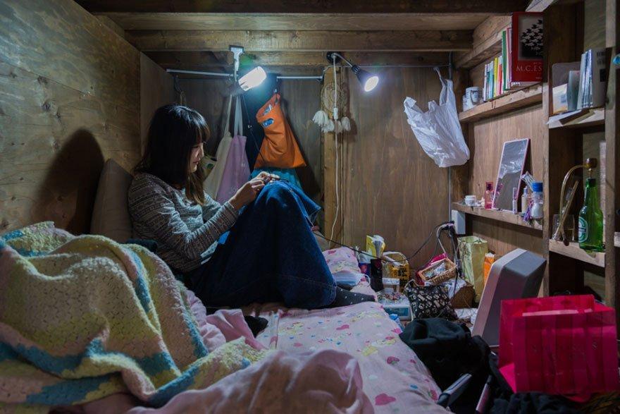 quarto de hotel japonês