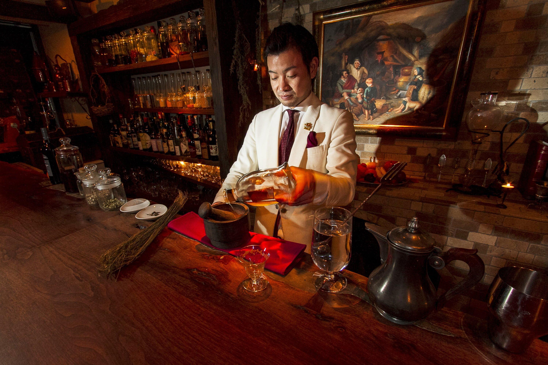 Bartender no Japão