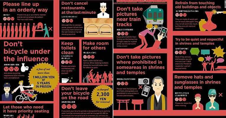 Turismo em Kyoto - Regras de etiqueta