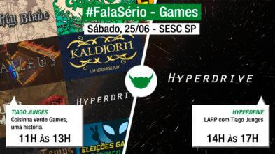 #FalaSério Games: Bate-Papo e LARP