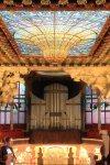 Auditório do Palau de la Musica Catalana em Barcelona