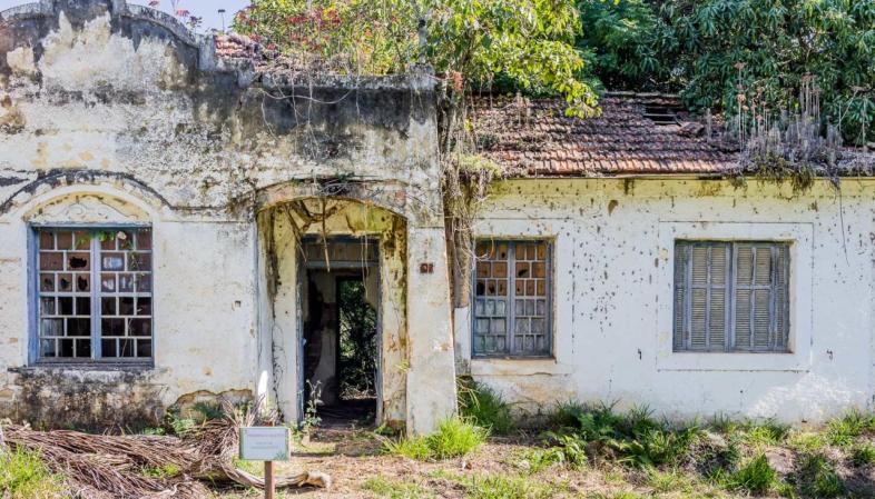 Antiga casa de operários da Fundição Ipanema, a Real Fábrica de Ferro