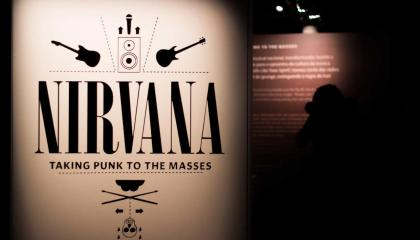 Exposição Nirvana: Taking Punk to the Masses
