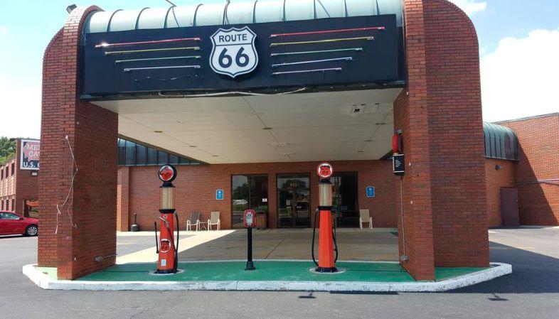 Onde se hospedar na Rota 66-Hotel Route 66 Springfield